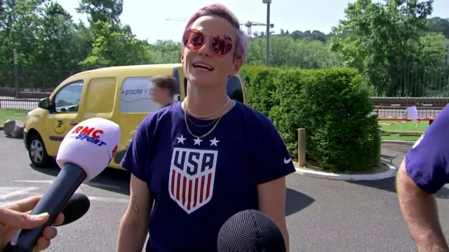 france 2019 women's world cup usa defeat england in semifinal row over us goal scorer alex morgan's celebration france lyon day baroness campbell... - celebration stock videos & royalty-free footage