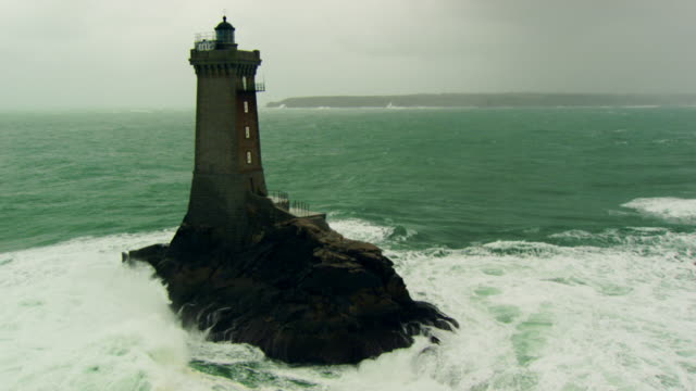 "France, Bretagne: ""La Vieille"" Lighthouse"