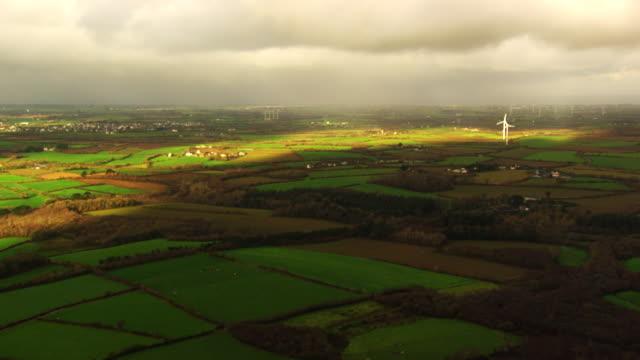france, bretagne: rural landscape - bretagna video stock e b–roll