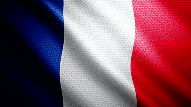 france flag 4k - french flag stock videos & royalty-free footage