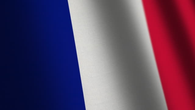 france flag - loop - french revolution stock videos & royalty-free footage