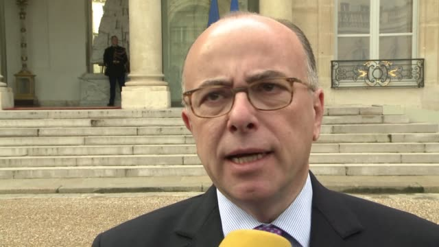 france has banned three islamic associations that ran a mosque in the paris area that was shut down following november's jihadist attacks on the... - bernard cazeneuve stock videos & royalty-free footage