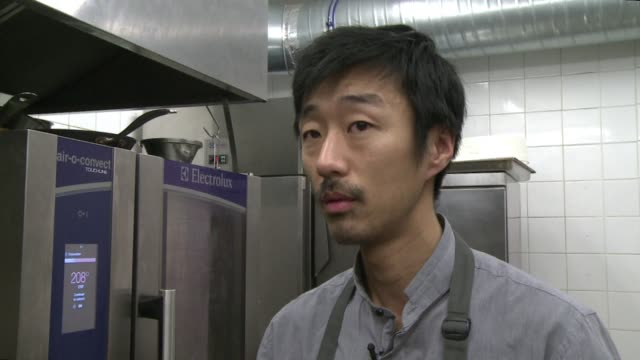 france has seen an increasing number of japanese chefs open high end haute cuisine restaurants where they create hybrid colourful meals that delight... - seduction stock videos & royalty-free footage