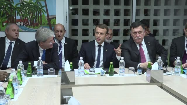 France holds emergency talks with African countries on Wednesday evening on how to combat slave trading of migrants in Libya