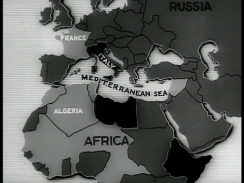 map france italy mediterranean sea algeria africa german nazi swastika symbol icon zi spain italy fortification icons in mediterranean sea - nazi swastika stock videos and b-roll footage