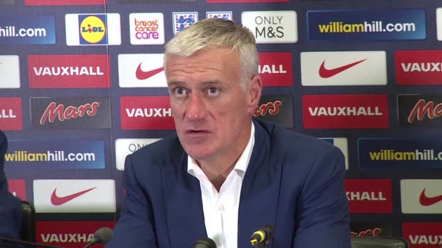 France manager Didier Deschamps pays tribute to Englands supporters for the respect they showed during a poignant friendly at Wembley
