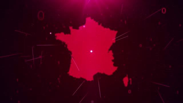 vidéos et rushes de france map connections détails complets contexte - carte