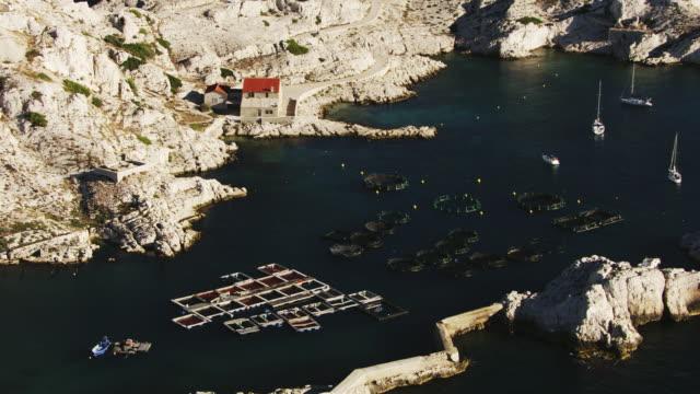 France, Marseille: Breeding of oyster
