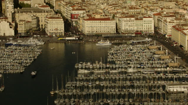 """vidéos et rushes de france - marseille : the """"vieux port"""" - marseille"""