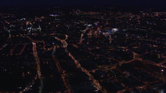 france, metz lorraine: metz by night - lorraine stock-videos und b-roll-filmmaterial