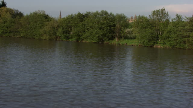france, metz lorraine: metz with the moselle river - metz stock videos & royalty-free footage