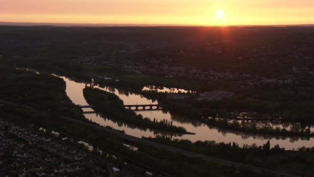 france, metz lorraine: metz with the moselle river - lorraine stock videos & royalty-free footage