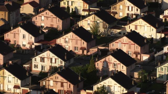 france, metz lorraine: residential area - lorraine stock-videos und b-roll-filmmaterial