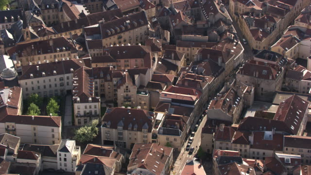 france, metz lorraine: residential area - metz stock videos and b-roll footage