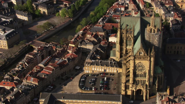 "france, metz lorraine: the ""saint-etienne cathedral"" of metz - metz stock videos and b-roll footage"