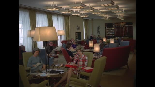 1968 - SS France ocean liner library