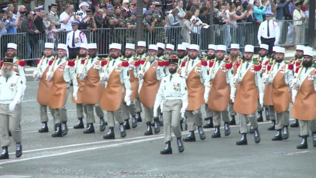 France on Thursday held its annual military parade on the Bastille Day national holiday haunted by the killing a day earlier of five of its soldiers...