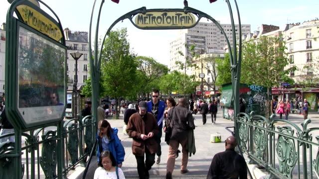 France, Paris, Belleville neighborhood