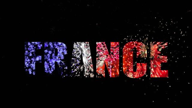 vídeos de stock, filmes e b-roll de france ring audio incluído. - dia do ano novo