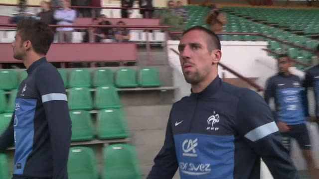 France winger Franck Ribery is rated as doubtful for Tuesdays World Cup qualifier away to Belarus according to his club Bayern Munich CLEAN Football...
