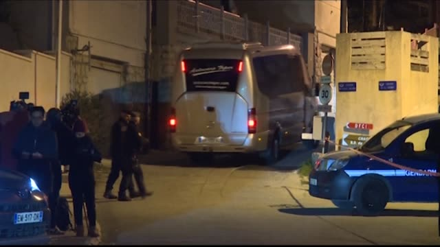 france's coronavirus quarantine centre at carrylerouet releases some of the travellers repatriated from virus stricken wuhan with some hoping to head... - head back stock videos & royalty-free footage