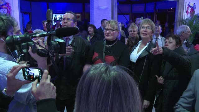 frances far right national front fn party hails exceptional results in the first round of local elections clean french national front hails... - national front stock videos and b-roll footage