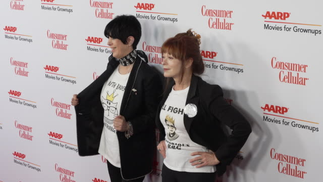 frances fisher and diane warren at the 18th annual movies for grownups awards at the beverly wilshire four seasons hotel on february 04 2019 in... - diane warren stock videos & royalty-free footage