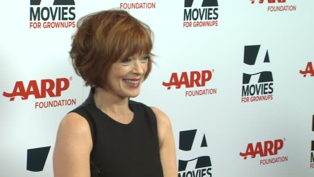 frances fisher at 13th annual aarp's movies for grownups awards gala at regent beverly wilshire hotel on in beverly hills, california. - regent beverly wilshire hotel stock videos & royalty-free footage
