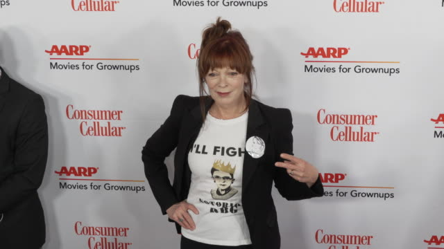 frances fisher at the 18th annual movies for grownups awards at the beverly wilshire four seasons hotel on february 04, 2019 in beverly hills,... - フォーシーズンズホテル点の映像素材/bロール