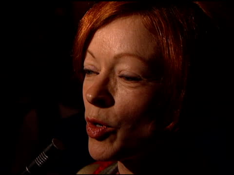 frances fisher at the afghan women event at dga in los angeles, california on march 19, 1999. - アメリカ監督組合点の映像素材/bロール