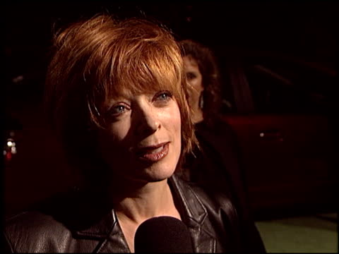 frances fisher at the environmental media awards at ebell theatre in los angeles california on november 5 2003 - environmental media awards点の映像素材/bロール