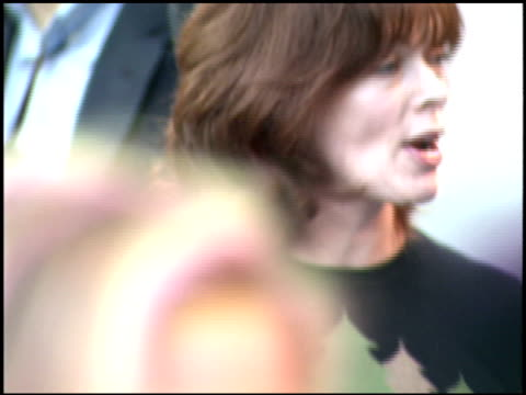 frances fisher at the environmental media awards at wilshire ebell theatre in los angeles, california on october 1, 2005. - environmental media awards stock-videos und b-roll-filmmaterial