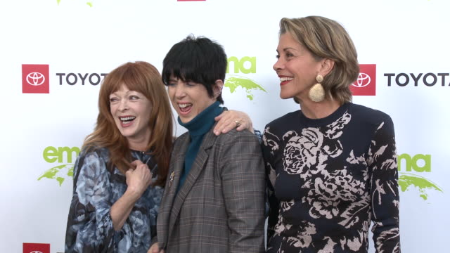 frances fisher diane warren wendie malick at the environmental media association 2nd annual honors benefit gala in los angeles ca - diane warren stock videos & royalty-free footage