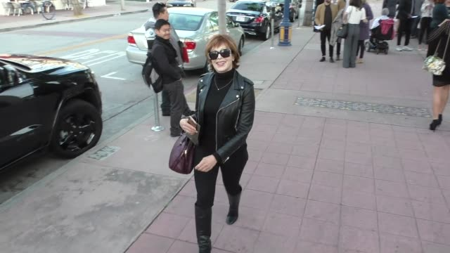 stockvideo's en b-roll-footage met frances fisher outside the genius premiere at fox bruin theater in westwood in celebrity sightings in los angeles - bruin theater
