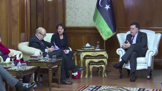 France's foreign minister on Thursday urged Libya's unity government to act on a United Nations plan for 2018 elections and a national dialogue to...
