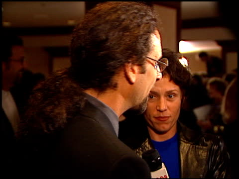 frances mcdormand at the directors guild awards arrivals at the century plaza hotel in century city, california on march 8, 1997. - センチュリープラザ点の映像素材/bロール