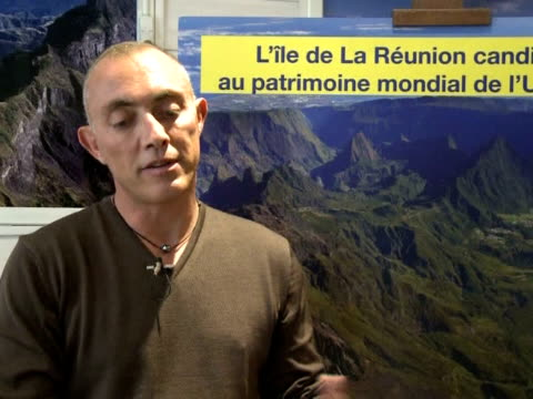 vídeos de stock, filmes e b-roll de france's reunion island in the indian ocean gained its first world heritage site within its national park from a unesco panel meeting in brazil on... - territórios ultramarinos franceses
