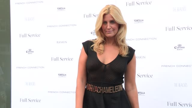 Francesca Hull at Rankin Full Service party on July 17 2013 in London England