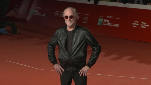 francesco de gregori at green book red carpet arrivals 13th rome film fest on october 24 2018 in rome italy - rome film fest stock videos and b-roll footage