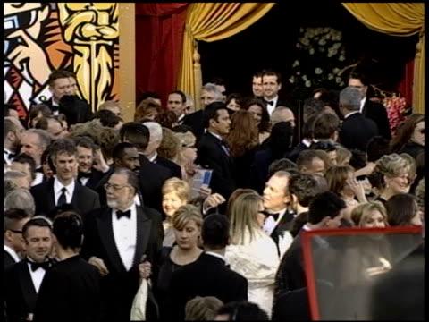 vídeos de stock e filmes b-roll de francis ford coppola at the 2004 academy awards arrivals at the kodak theatre in hollywood california on february 29 2004 - 76.ª edição da cerimónia dos óscares