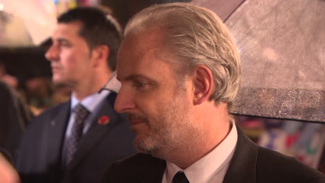 Francis Lawrence at 'The Hunger Games Catching Fire' Premiere on November 11 2013 in London England