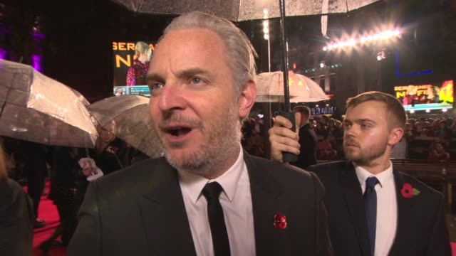 INTERVIEW Francis Lawrence on being in London at 'The Hunger Games Catching Fire' Premiere on November 11 2013 in London England