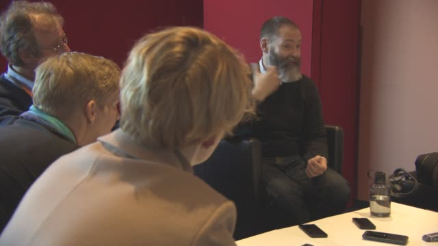 'Gods Own Country' Interviews at Berlinale Palast on February 15 2017 in Berlin Germany