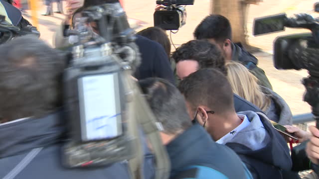 francisco nicolás gómez iglesias, known as little nicholas, sits this tuesday in the dock for the trip he made to ribadeo in august 2014 allegedly... - serene people stock videos & royalty-free footage