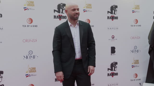 franck gastambide at the sylvester stallone millennium media dinner cocktail reception arrivals on may 24 2019 in cannes france - 72nd international cannes film festival stock videos and b-roll footage