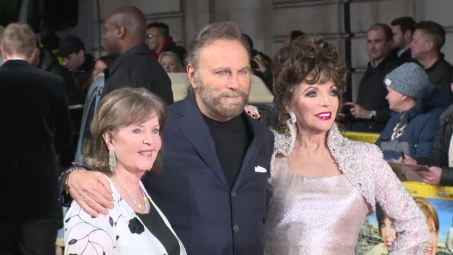 Franco Nero Pauline Collins Joan Collins on March 08 2017 in London England