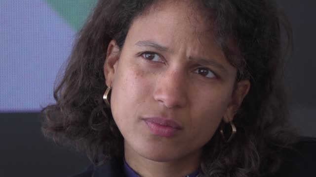 franco senegalese director mati diop wins the grand prize for her first feature atlantics at this year's cannes film festival - 72nd international cannes film festival stock videos and b-roll footage
