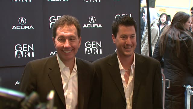 frank cappello jason hallock and jamison jones at the twelfth annual gen art film festival at clearview's chelsea west theater in new york new york... - cappello stock videos and b-roll footage