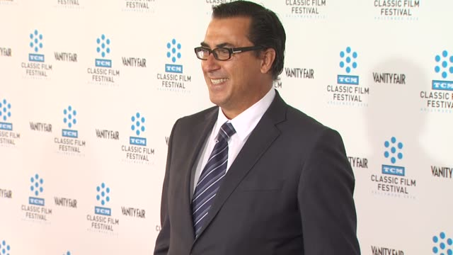frank capra iii at the tcm classic film festival opening night screening of 'a star is born' at hollywood ca - frank capra video stock e b–roll