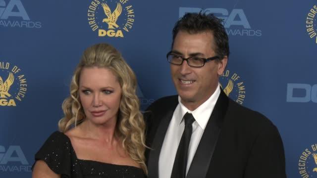 vídeos de stock, filmes e b-roll de frank capra iii julie quinn at 65th annual directors guild of america awards arrivals 2/2/2013 in hollywood ca - frank capra